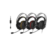 ASUS TUF GAMING H7 fekete-acélszürke gamer headset