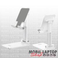 """Asztali táblagép és mobiltelefon tartó, összehajtható 4,7""""-10"""" fehér hoco. PH29A"""