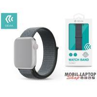 Devia ST308260 Apple Watch szürke sport óraszíj