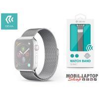 Devia ST325045 Apple Watch ezüst fém óraszíj