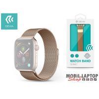 Devia ST325069 Apple Watch arany fém óraszíj
