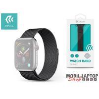 Devia ST325083 Apple Watch fekete fém óraszíj