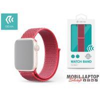 Devia ST325205 Apple Watch hibiszkusz sport óraszíj