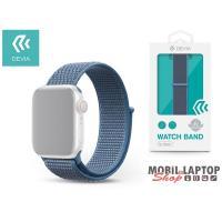 Devia ST325212 Apple Watch kék sport óraszíj
