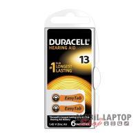 Elem Duracell EASYTAB 13/PR48 1,45V hallókészülékhez (6db/csomag)