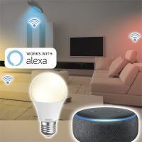 Hama 176584 E27 10W fehér okos Wifi LED izzó