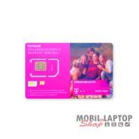 SIM kártya Telekom REGISZTRÁLATLAN 990Ft lebeszélhető