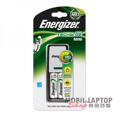 Elemtöltő Energizer mini 2db AA 2HR6 2000mAh akkumulátorral